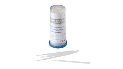Conical micro-applicators box