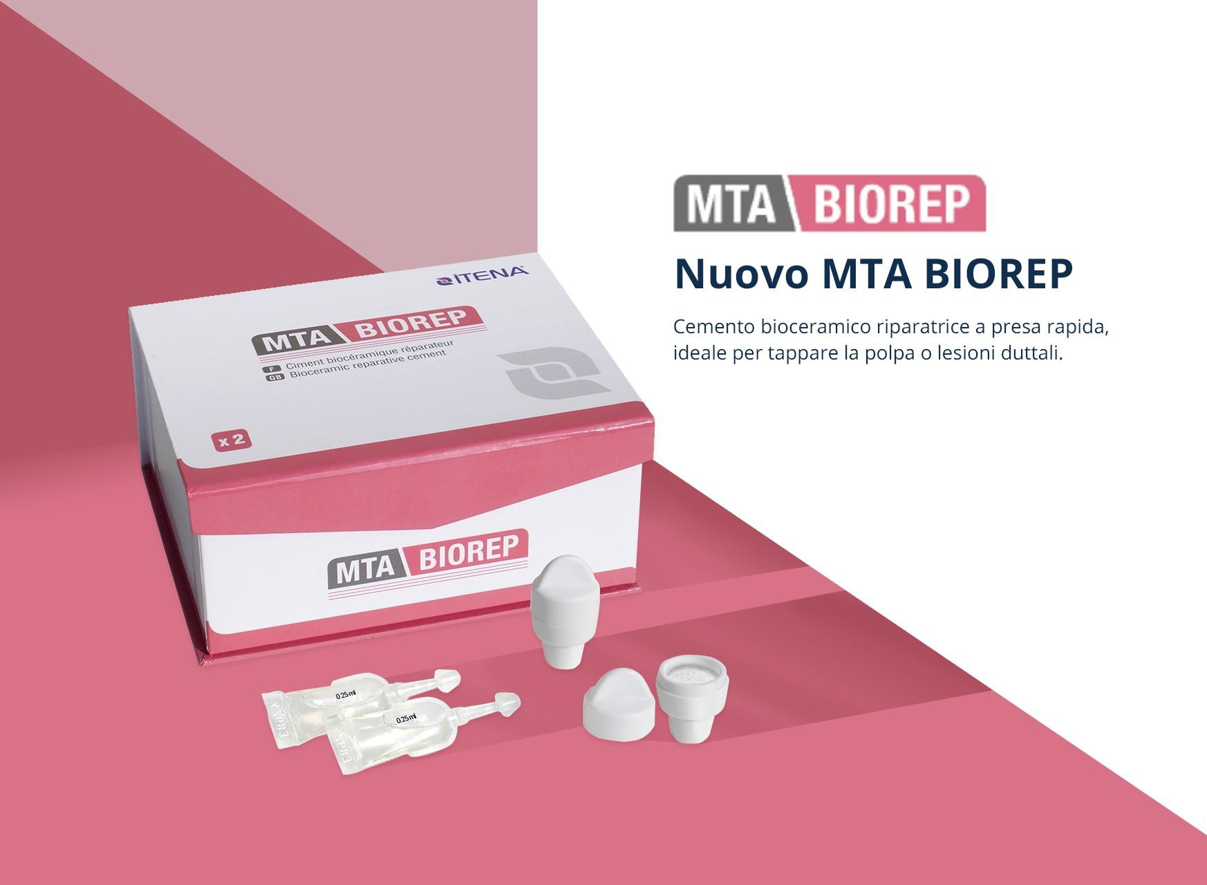 MTA Biorep - Cemento riparativo bioceramico