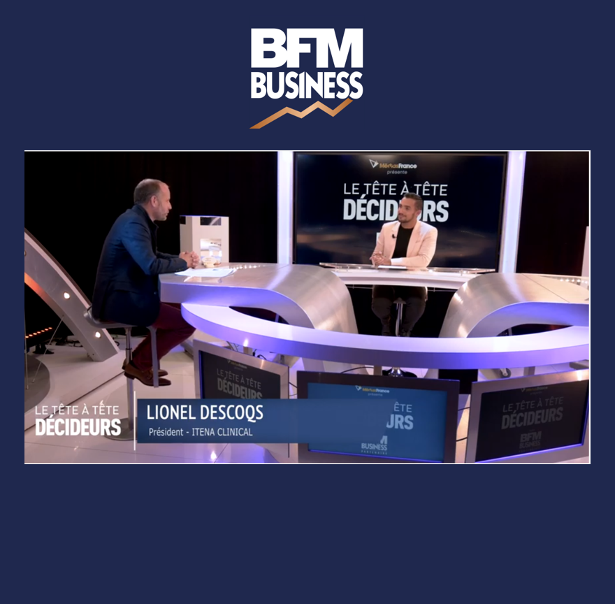 Interview de Lionel Descoqs dans le tête-à-tête décideurs de BFM Business - Image